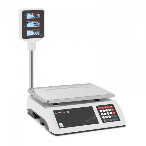 Waga kontrolna - 15 kg / 2 g - LCD