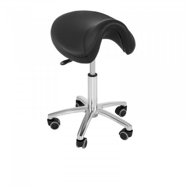 Krzesło siodłowe Physa Sorano - czarne