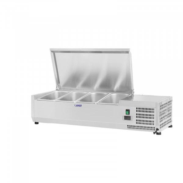 Nadstawa chłodnicza - 120 x 39 cm - 3 x GN 1/3 oraz 1 x GN 1/2