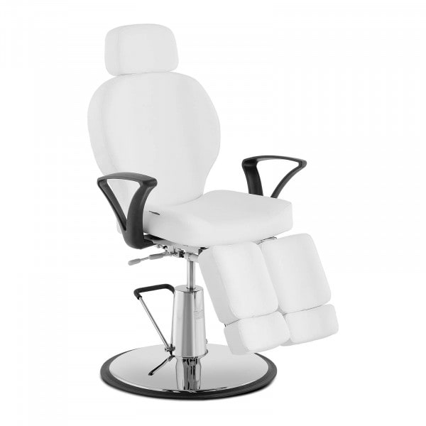 Fotel do pedicure NOVARA WHITE - biały