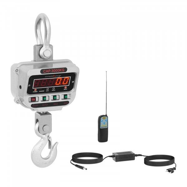 Waga hakowa - 3 t / 0,5 kg - LED