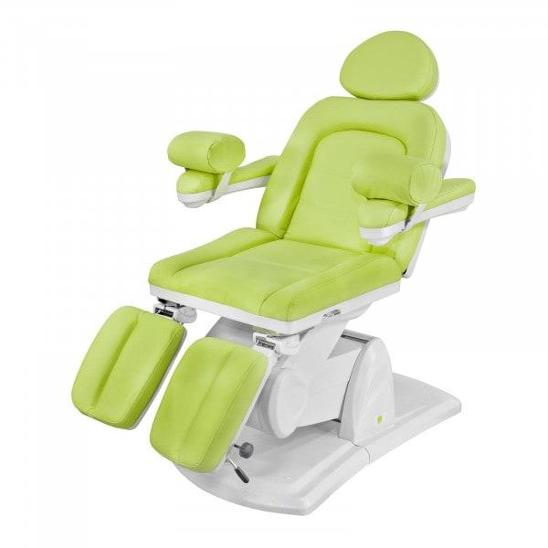 Fotel kosmetyczny Physa Nice do pedicure jasnozielony