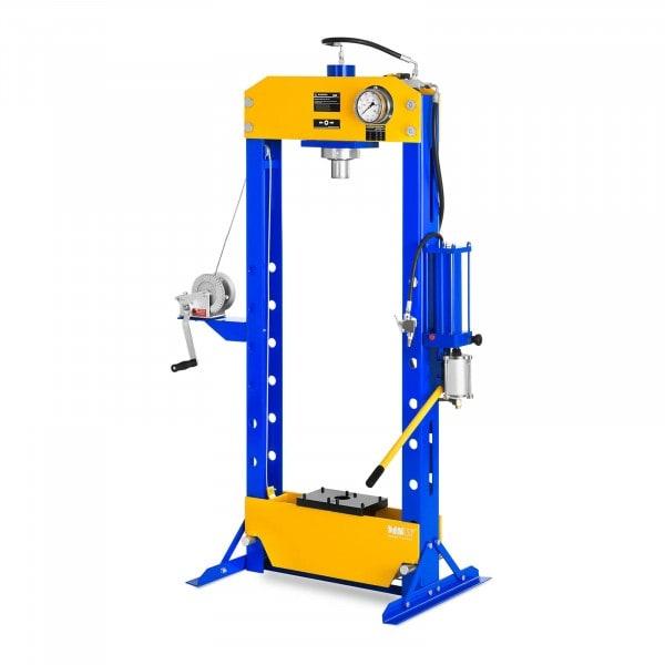 Prasa hydrauliczno-pneumatyczna - 30 t - 666 bar